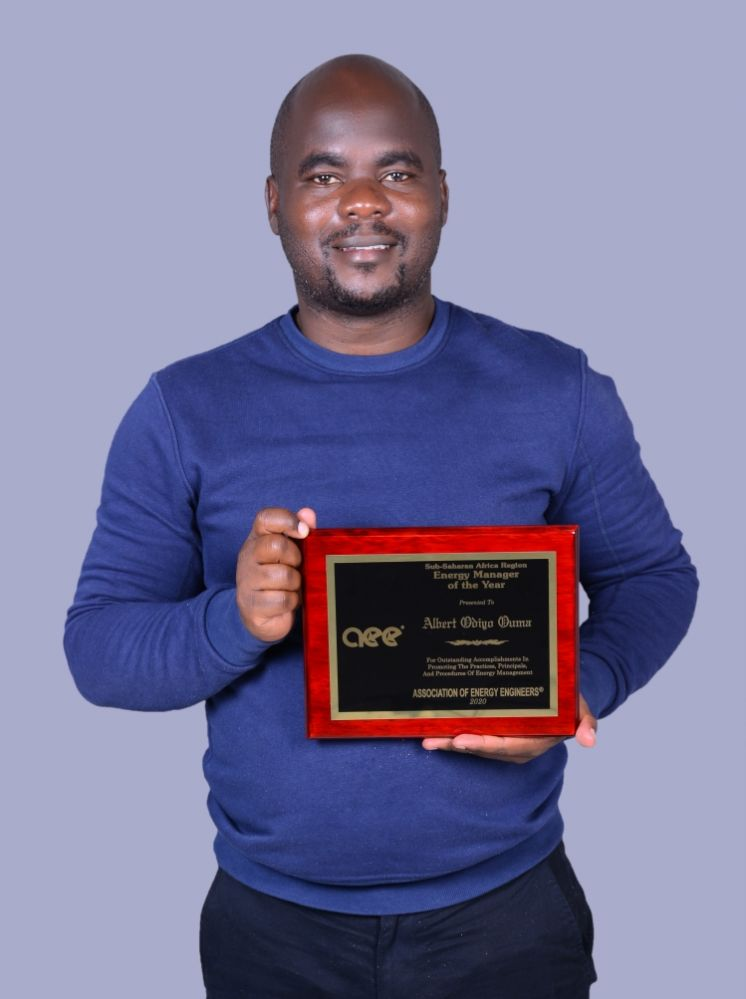 Moi University's Alumnus scoops Energy Manager of the Year Award